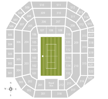 Wimbledon Center Court Seating Chart