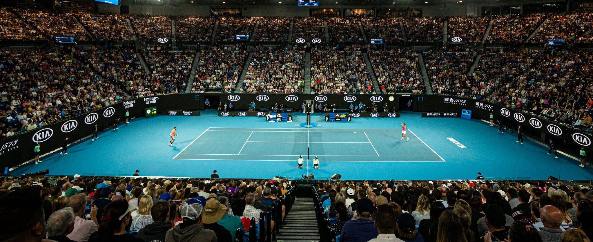 Us open tennis dates in Melbourne