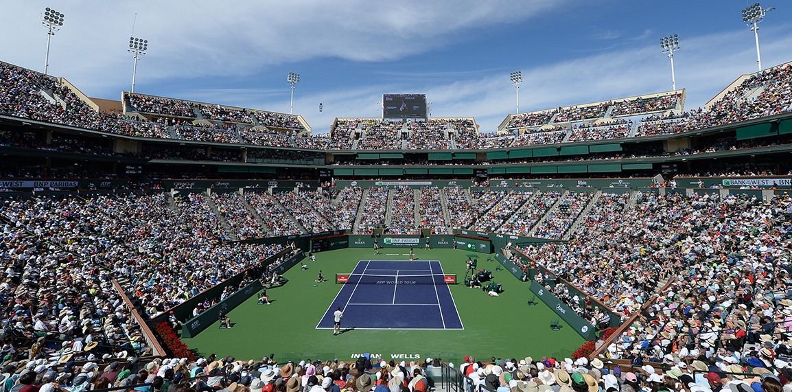 JOIN US IN TENNIS PARADISE! Book your tickets and packages now.