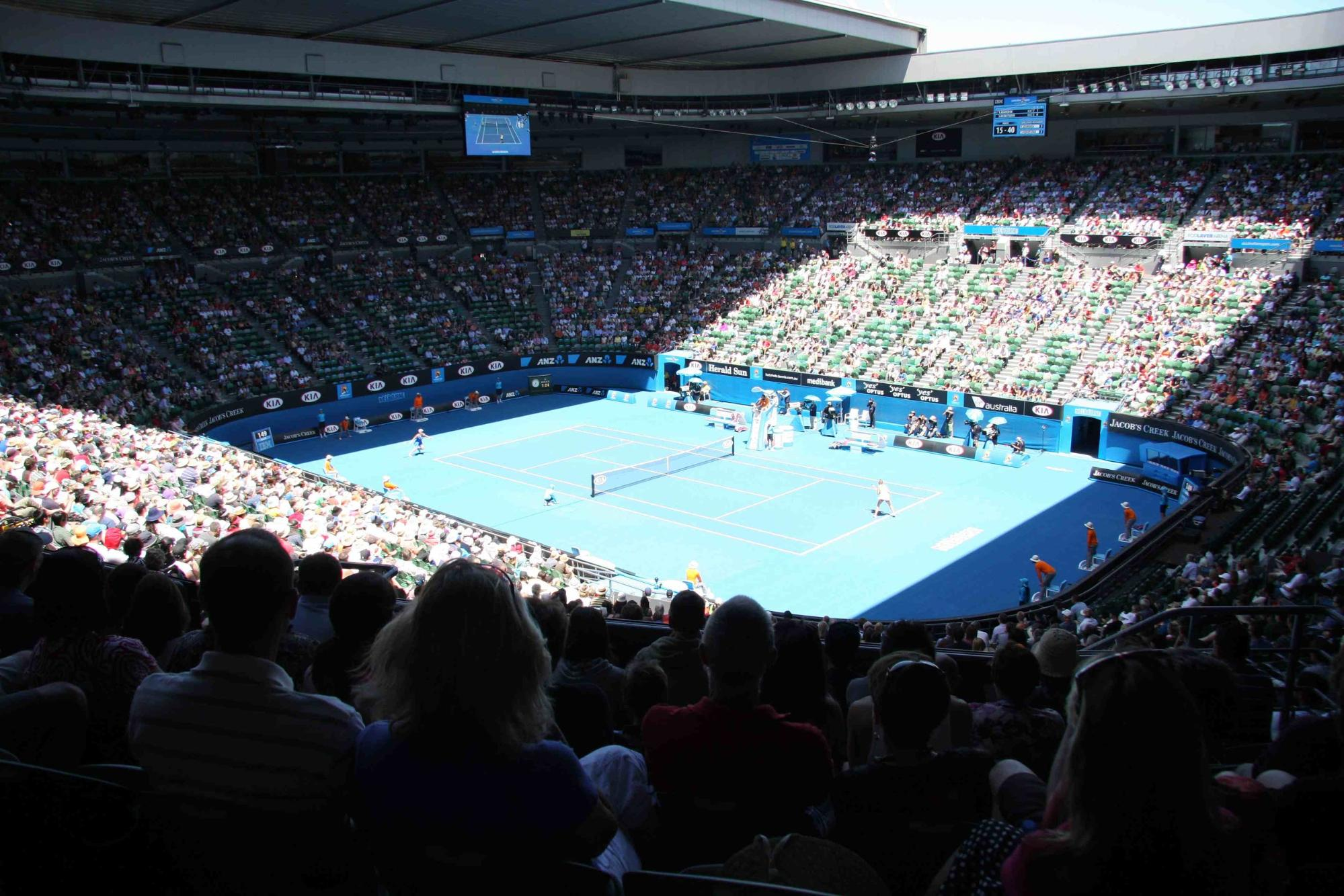 Australian Open Seating Guide Championship Tennis Tours