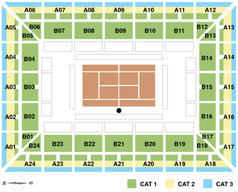 Atp Calendario 2020.Madrid Masters 2020 Seating Guide Championship Tennis Tours