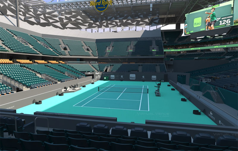 a6ad8294 Miami Open Seating Guide | 2020 Miami Masters | Championship Tennis ...