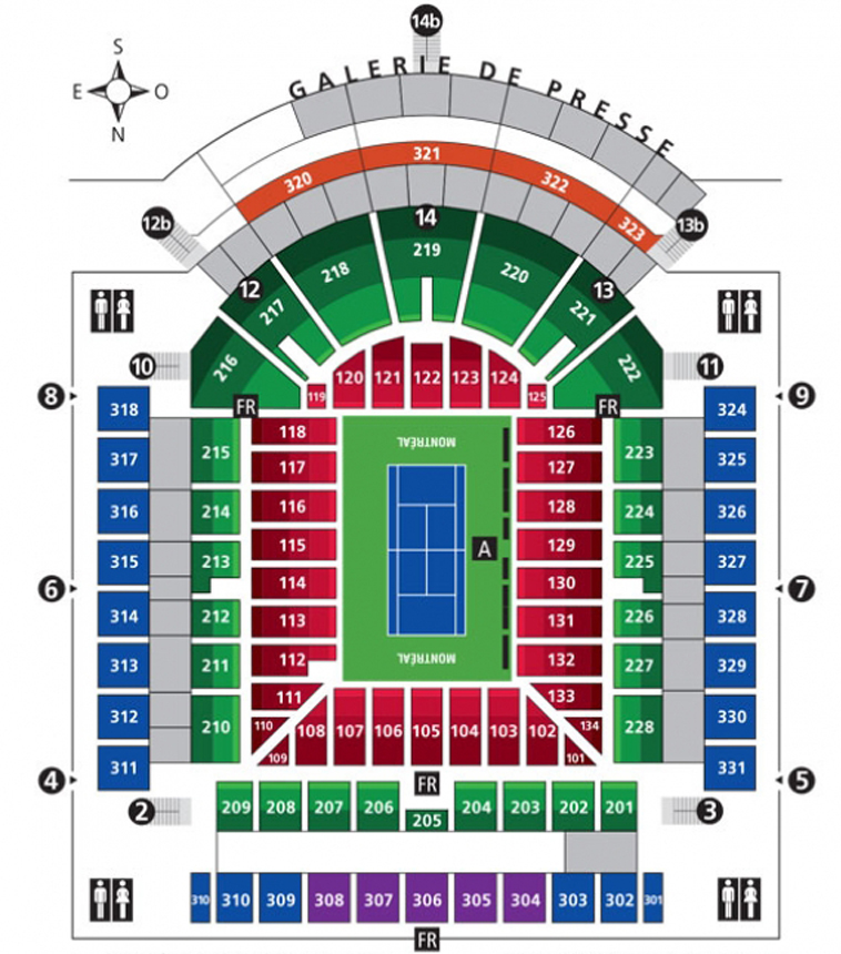 Rogers Cup Montreal 2020 Tickets Packages Championship Tennis